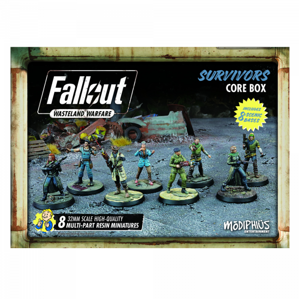 FALLOUT WASTELAND WARFARE - SURVIVORS CORE BOX