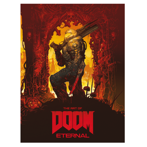 DOOM ARTBOOK THE ART OF DOOM ETERNAL LIMITED EDITION