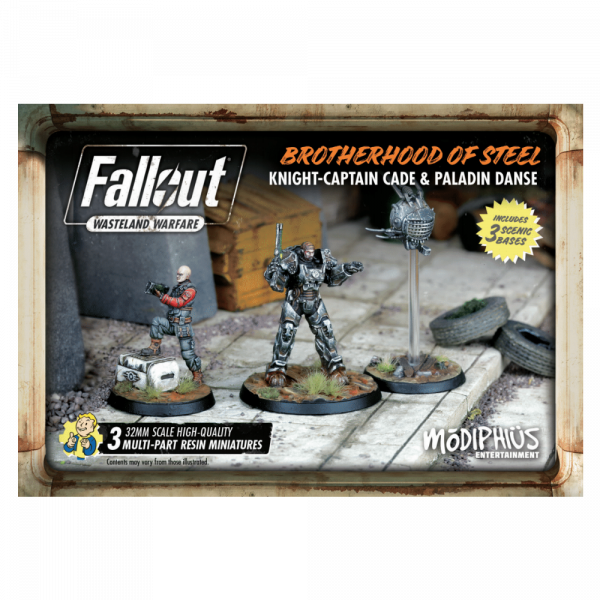 FALLOUT WASTELAND WARFARE - BOS CADE AND DANSE