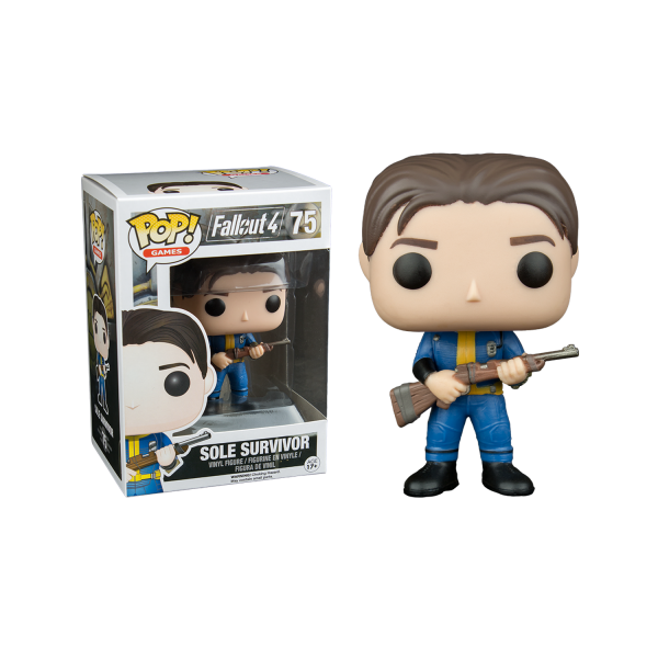 Fallout Figure Sole Survivor POP Vinyl