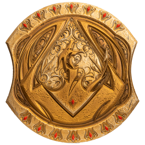 THE ELDER SCROLLS ONLINE REPLICA DRAGONGUARD SHIELD