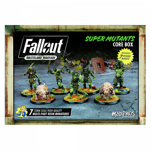 FALLOUT WASTELAND WARFARE - SUPER MUTANTS CORE