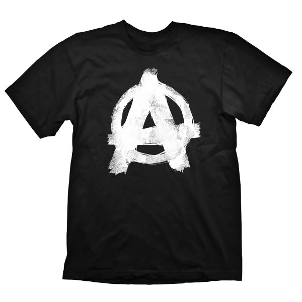 RAGE 2 T-SHIRT ANARCHY BLACK