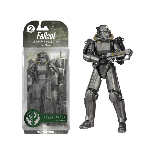 Fallout 3 Figure Power Armor Legacy Collection 1