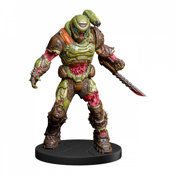 DOOM STATUE ZOMBIE DOOM SLAYER