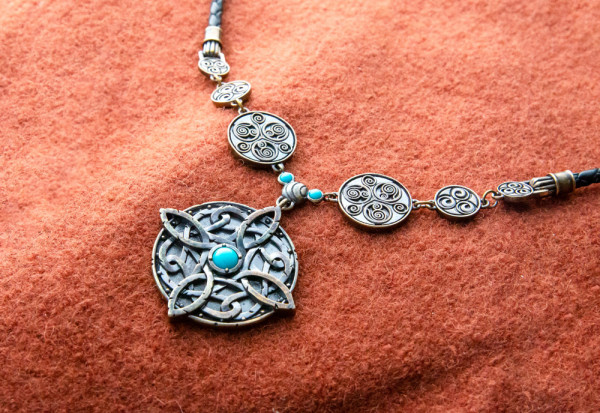 "The Elder Scrolls V: Skyrim Necklace ""The Amulet of Mara Reimagined"""