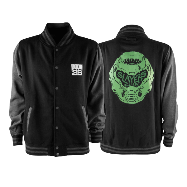 DOOM ETERNAL COLLEGE JACKET SLAYERS CLUB