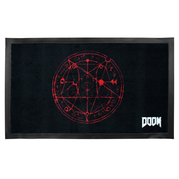 Doom Doormat Pentagram