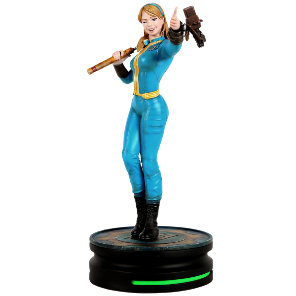 FALLOUT STATUE VAULT GIRL MODERN ICON