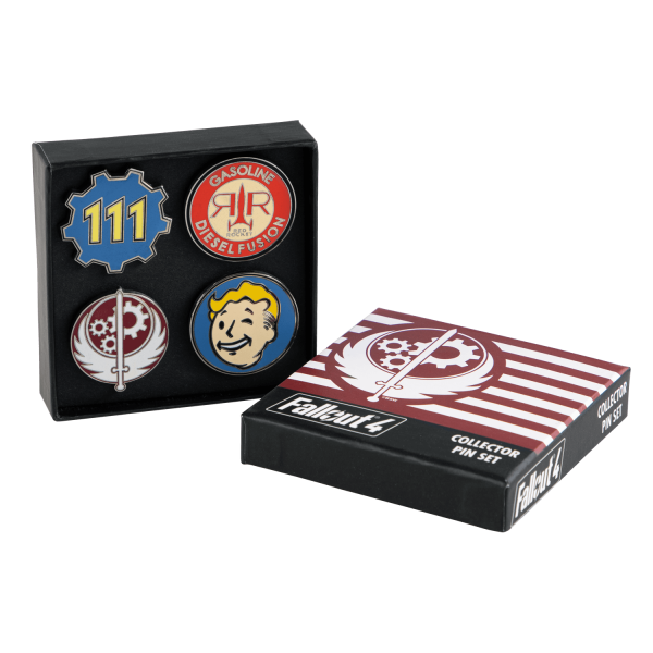 FALLOUT 4 PIN SET COLLECTOR