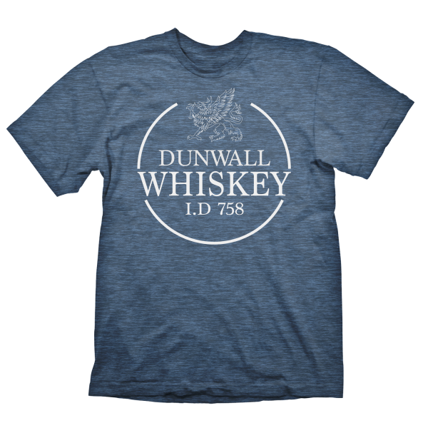 DISHONORED 2 T-SHIRT DUNWALL WHISKEY
