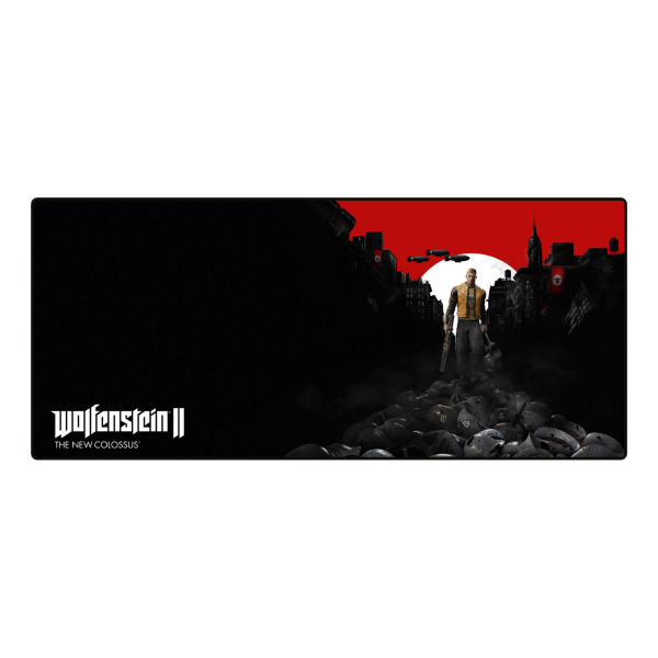 WOLFENSTEIN OVERSIZED MOUSEPAD TRAIL OF THE DEAD