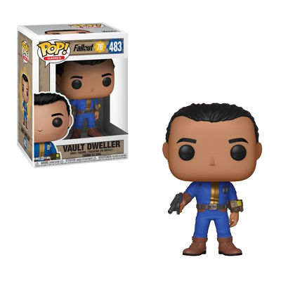 FALLOUT 76 FIGURE VAULT DWELLER MALE POP VINYL