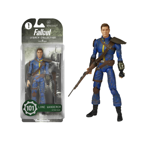 Fallout 3 Figure Lone Wanderer Legacy Collection 1