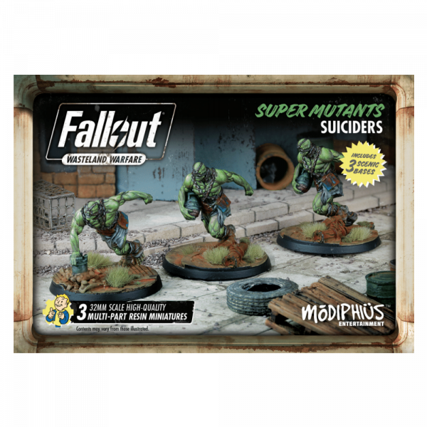 FALLOUT WASTELAND WARFARE - SUPER MUTANT SUICIDERS