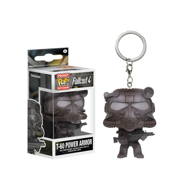 Fallout Keychain Power Armor POP Vinyl