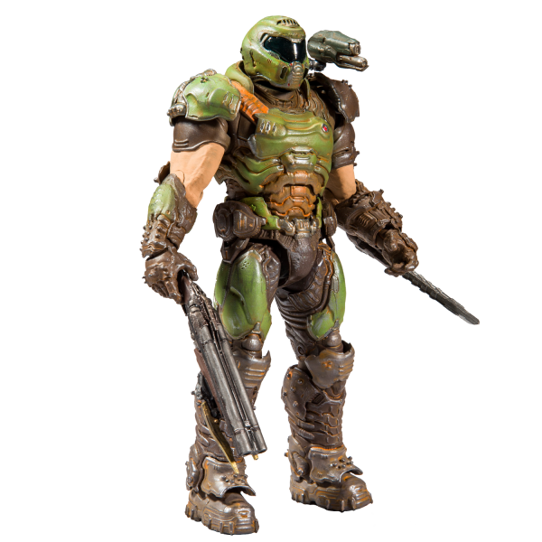 DOOM ACTION FIGURE DOOM SLAYER