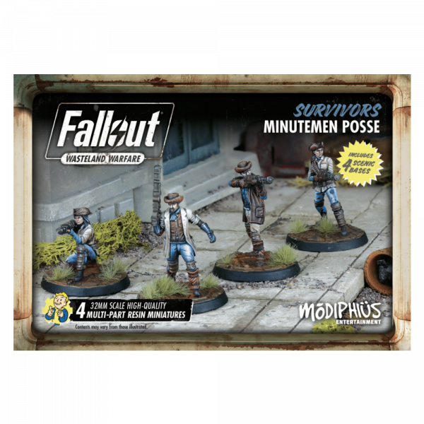 FALLOUT WASTELAND WARFARE - MINUTEMEN POSSE