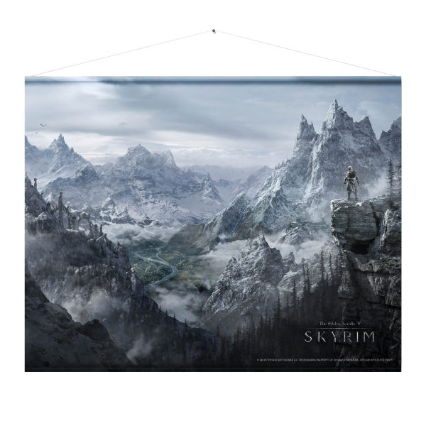 Skyrim Wallscroll Valley