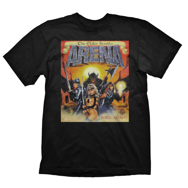 THE ELDER SCROLLS T-SHIRT ELDER SCROLLS ARENA