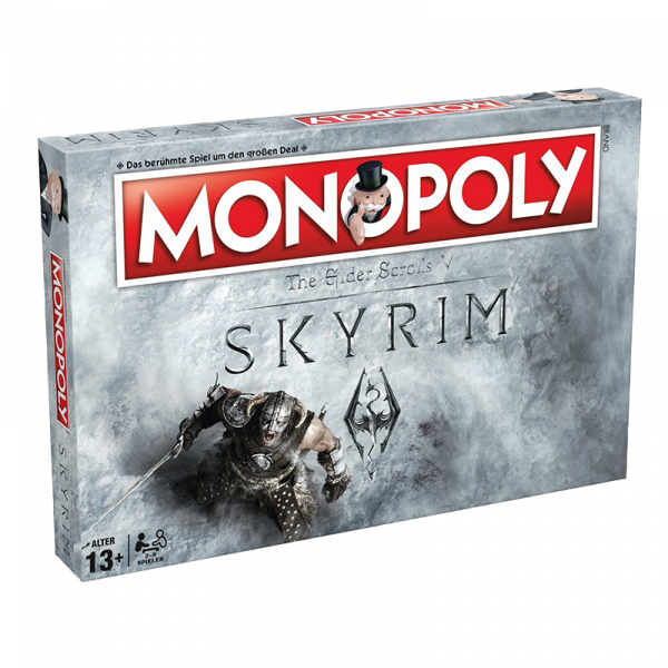 Skyrim Monopoly Collectors Edition German 1