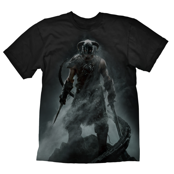 1b7263a1 The Elder Scrolls V: Skyrim T-Shirt Dragonborn | The Official ...