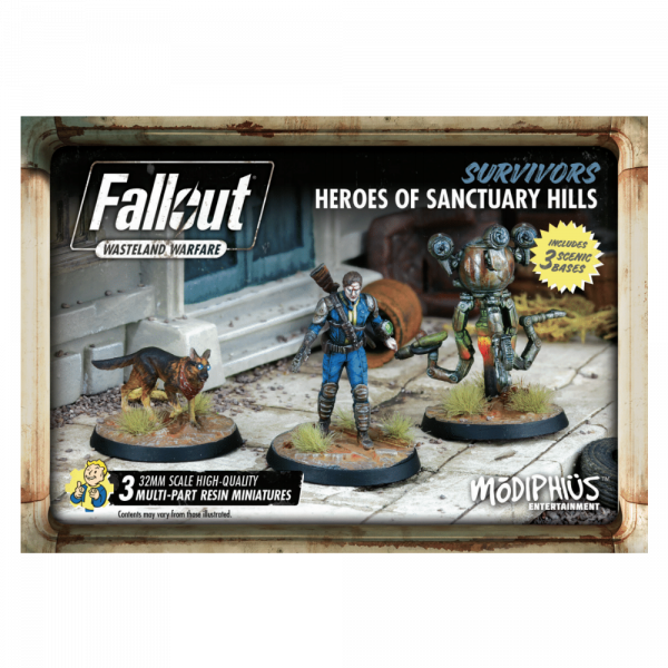 FALLOUT WASTELAND WARFARE - HEROES OF SANCTUARY HILLS