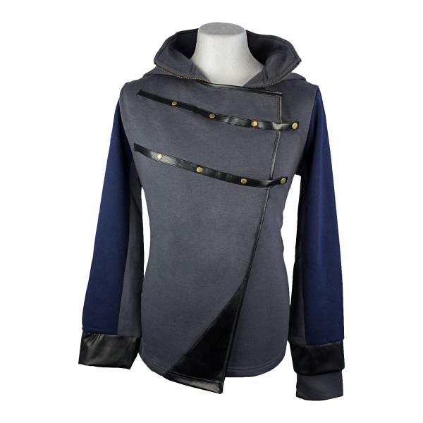 Dishonored Hoodie Corvos Stealth Outfit 1