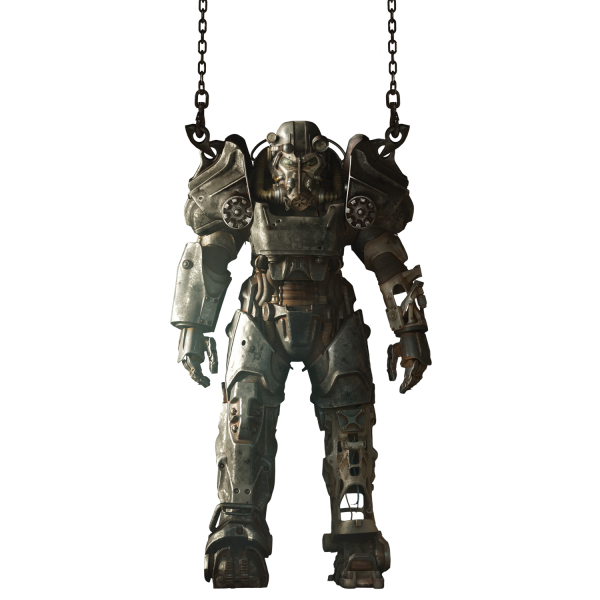 FALLOUT 4 WALL DECAL T-60 POWER ARMOR