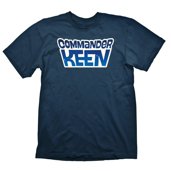 COMMANDER KEEN T-SHIRT LOGO