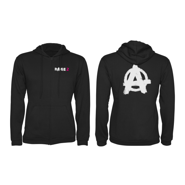 RAGE 2 ZIP-UP HOODIE ANARCHY